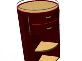 Designer Office Cabinet ArchiCAD