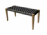 Fuga Bench Seat For ArchiCAD