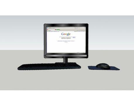 Flat Screen Computer