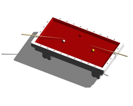 Billard Table For Revit