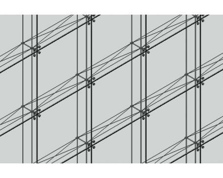 Spider Clip Curtain Panel