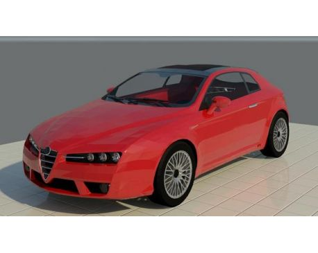 Alfa Romeo Brera For Revit