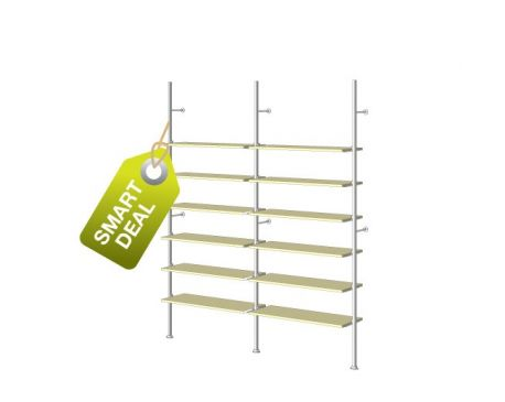 Retail display shelving