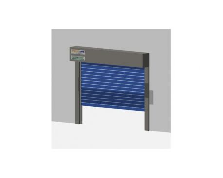 High Speed Doors Revit Families