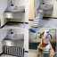 RUS-6024S Ridalco stainless steel dog grooming sink