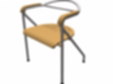 Arc Chair For ArchiCAD