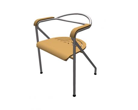 Arc Chair For ArchiCAD