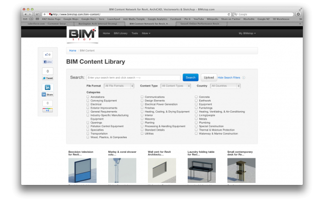 BIMstop smarter search launched