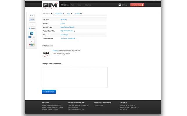BIM feedback loop