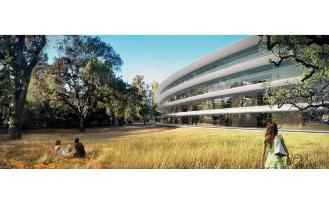 Apple campus 2 update and renders