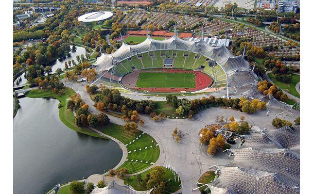 1972 Munich Olympic Stadium BIM