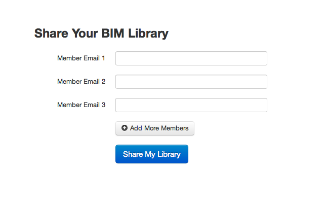 BIMstop private libraries - create your own in house library
