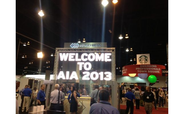 Great products at the AIA 2013 Expo