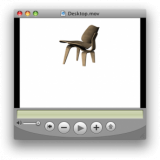 3D interactive furniture models