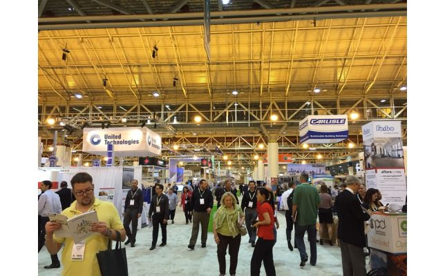 Greetings from Greenbuild 2014!