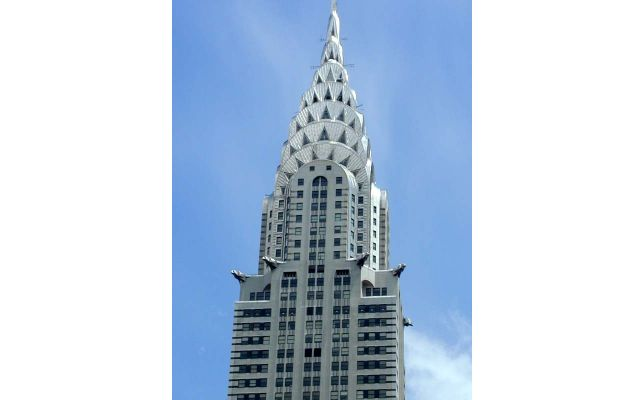 Chrysler Building modelled in BIM