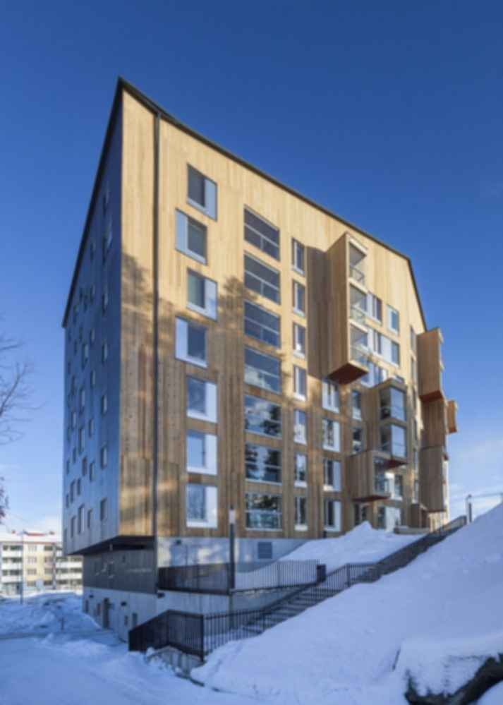 What are the challenges to all-wood high rise buildings