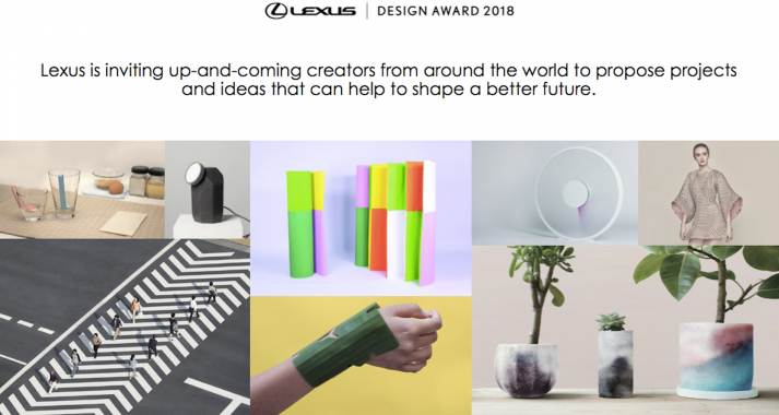 Offering Creatives Global Exposure Enter The Lexus Design Award