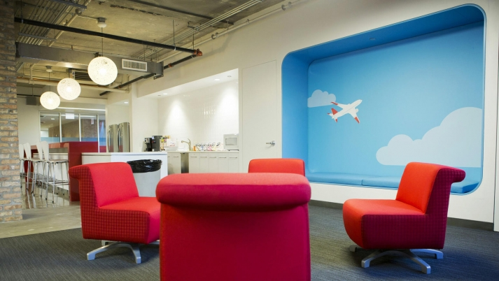 2. Chicago, Illinois. Creative Office Designs ...
