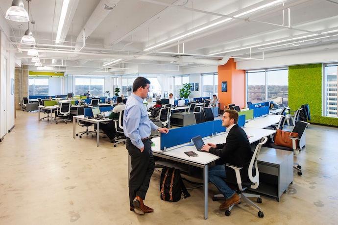 4. Richmond, Virginia. Creative Office Designs ...