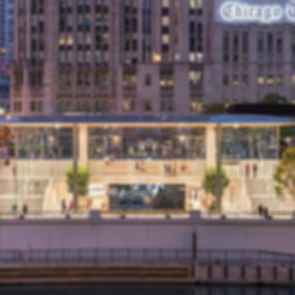 Apple Michigan Avenue Store - Exterior