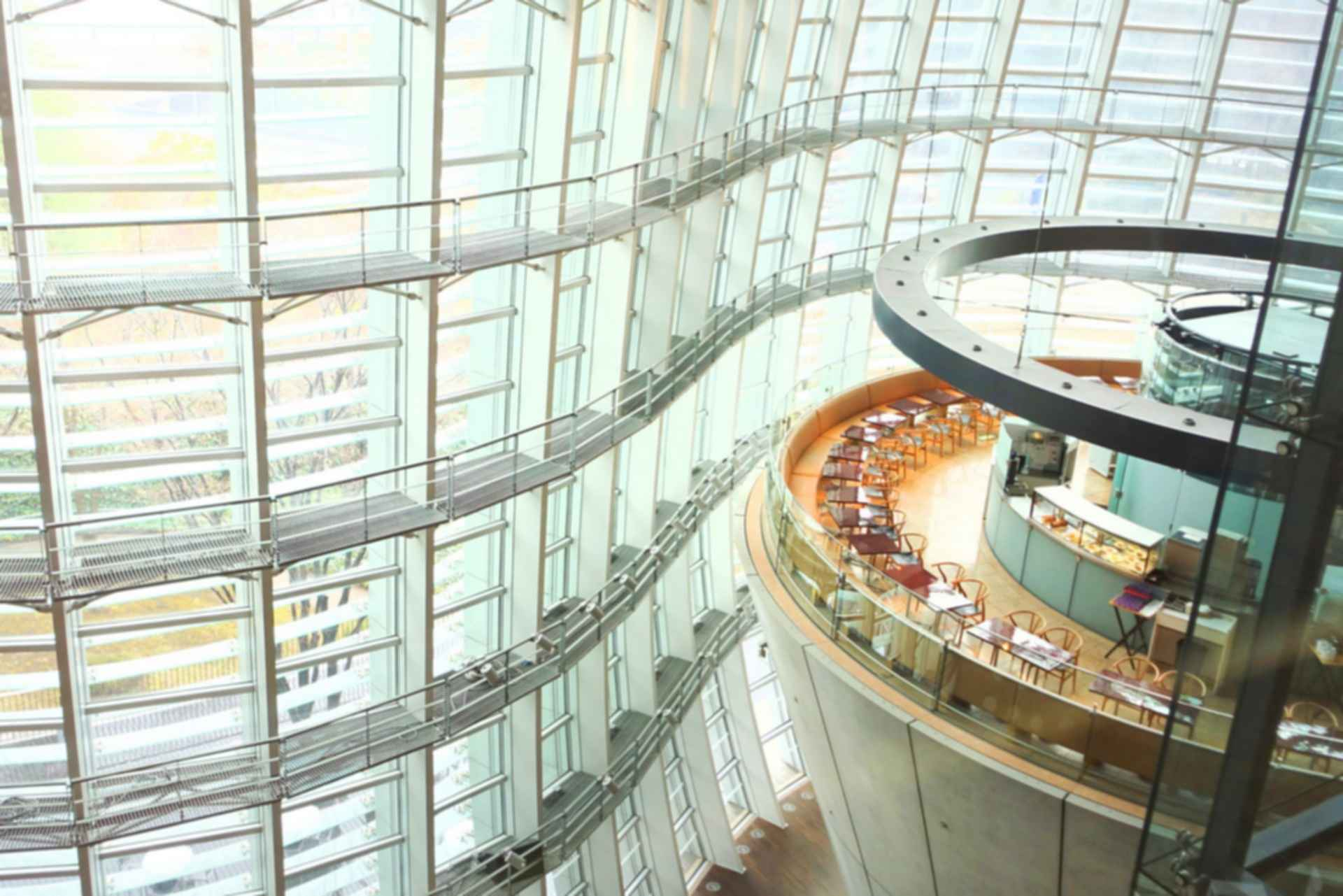 Tokyo National Art Center - Interior