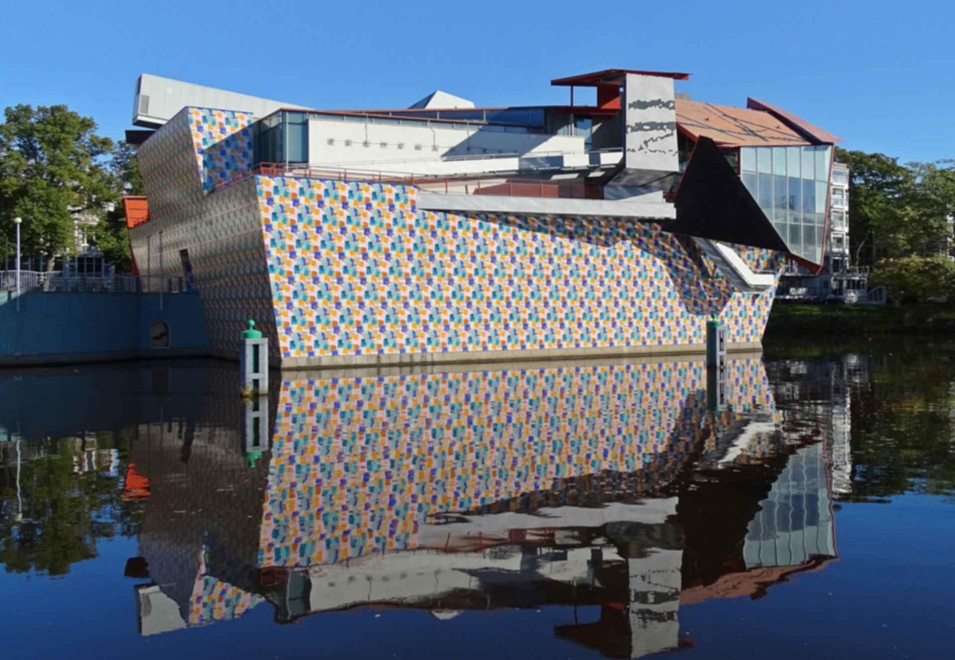 Groninger Museum - Side Exterior