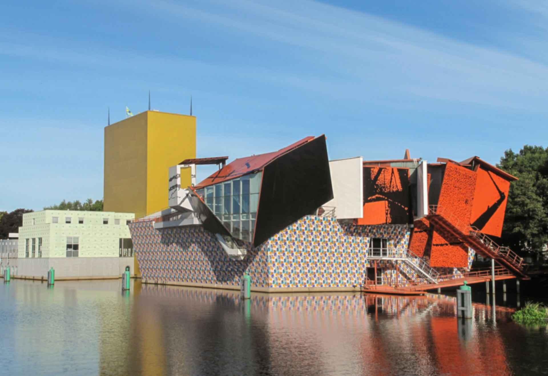 Groninger Museum - Rear Exterior