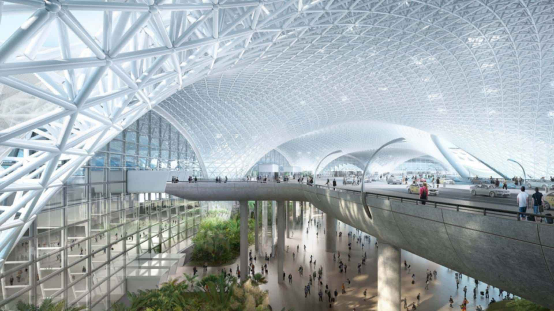 Mexico City Airport - Entrance Hall Concept Design