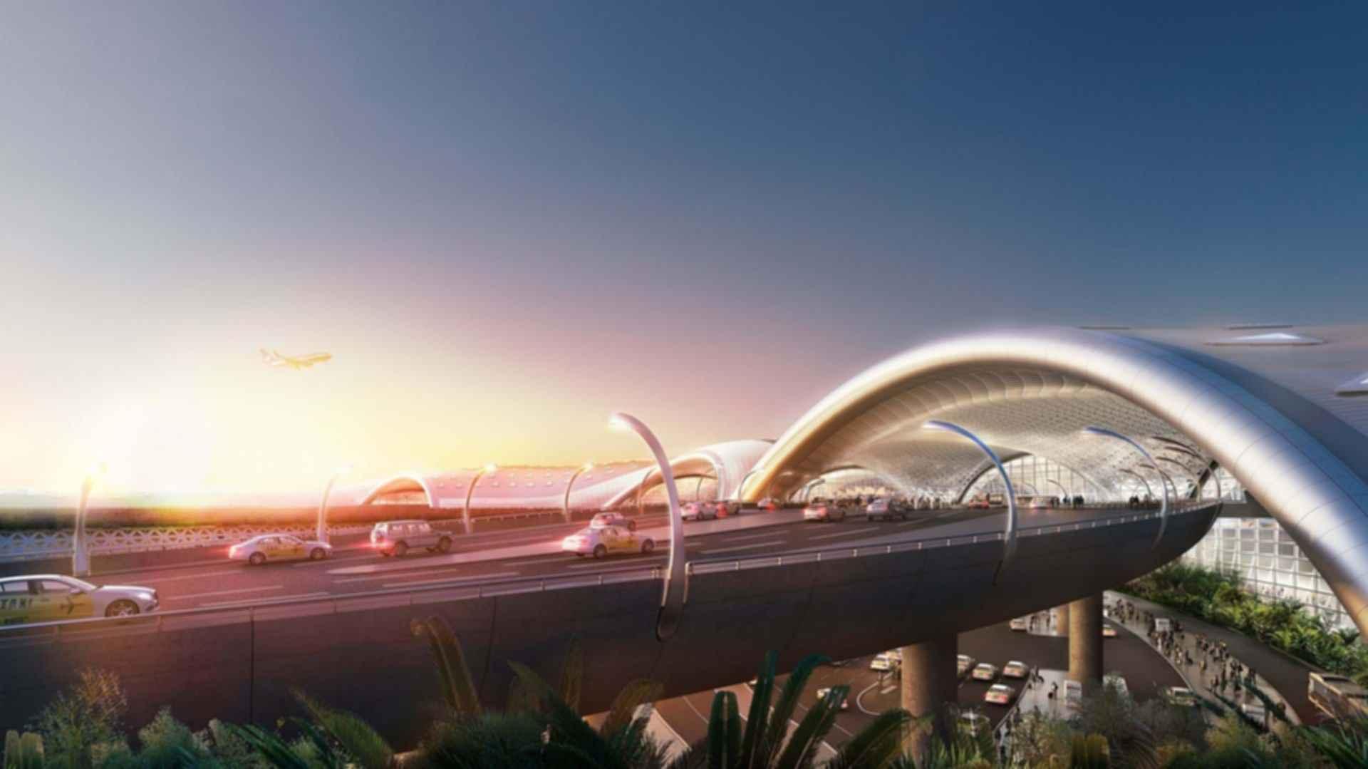 Mexico City Airport - Entrance Concept Design