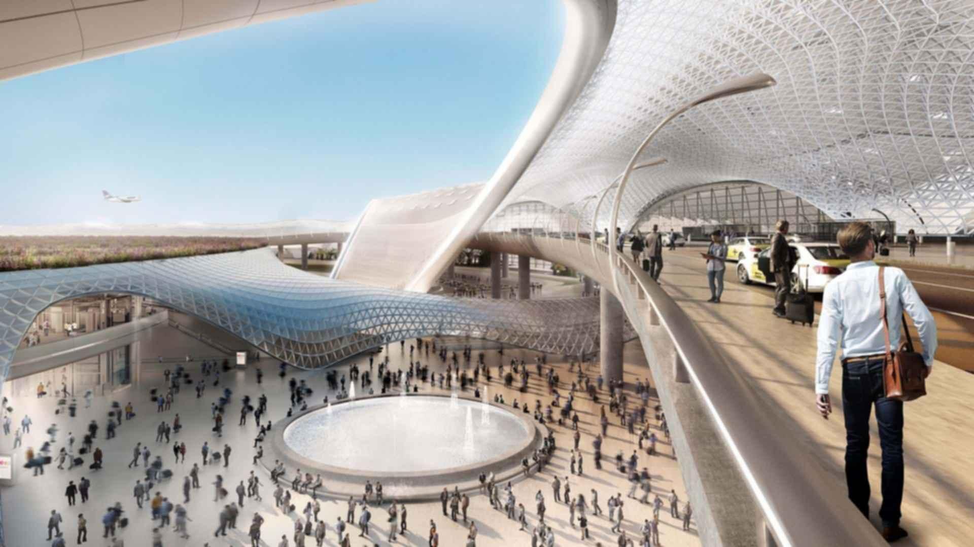 Mexico City Airport Concept Design Modlar Com