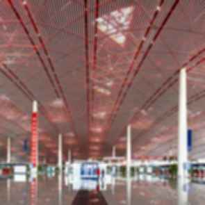 Beijing Capital International Airport - Ceiling