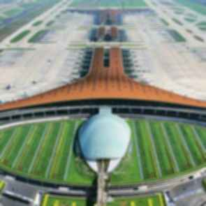 Beijing Capital International Airport - Bird's Eye View