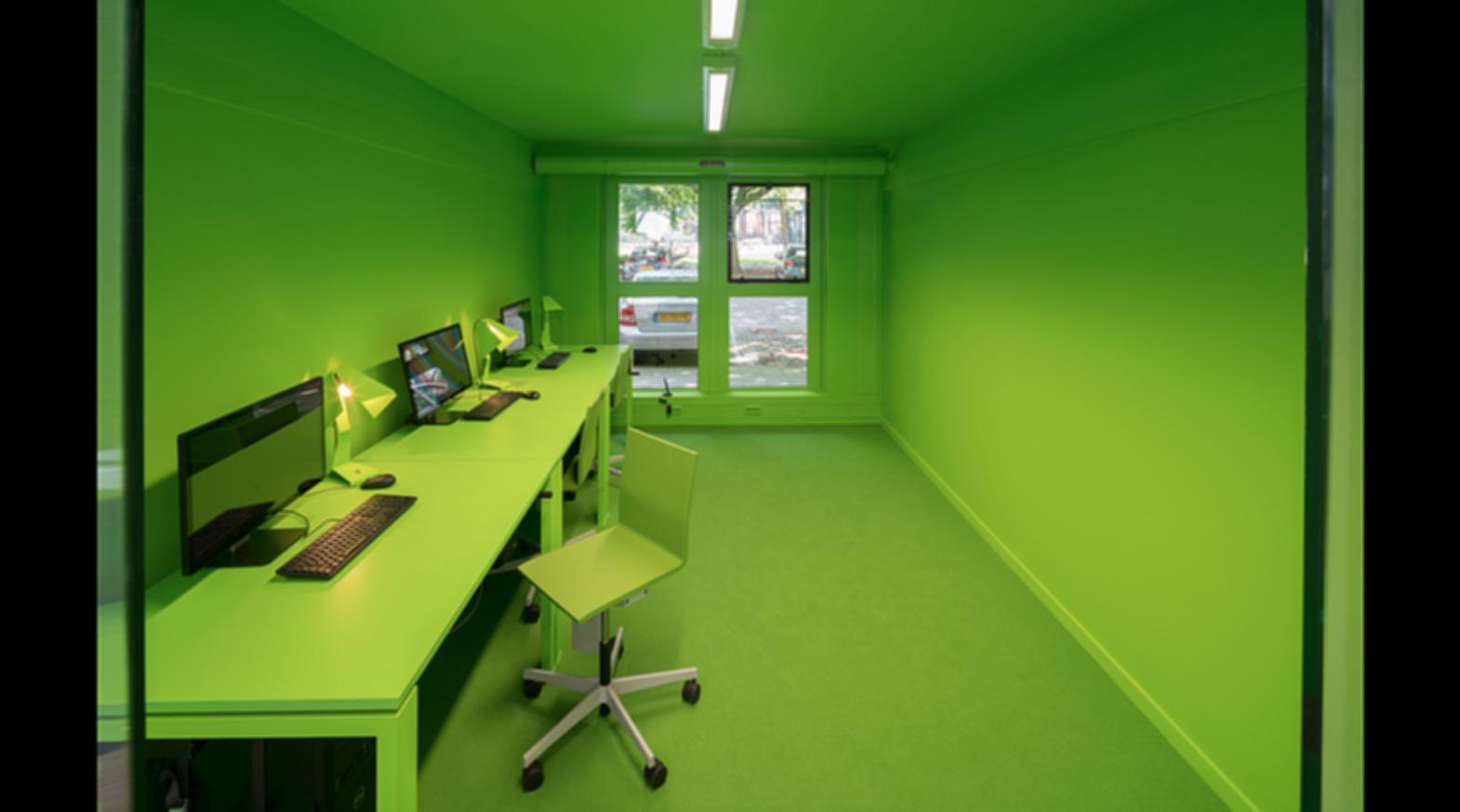 MVRDV House - Green Room