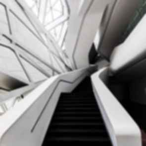 Guangzhou Opera House - Interior Stairs