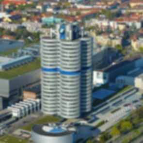 BMW Museum and Headquarters - Aerial View