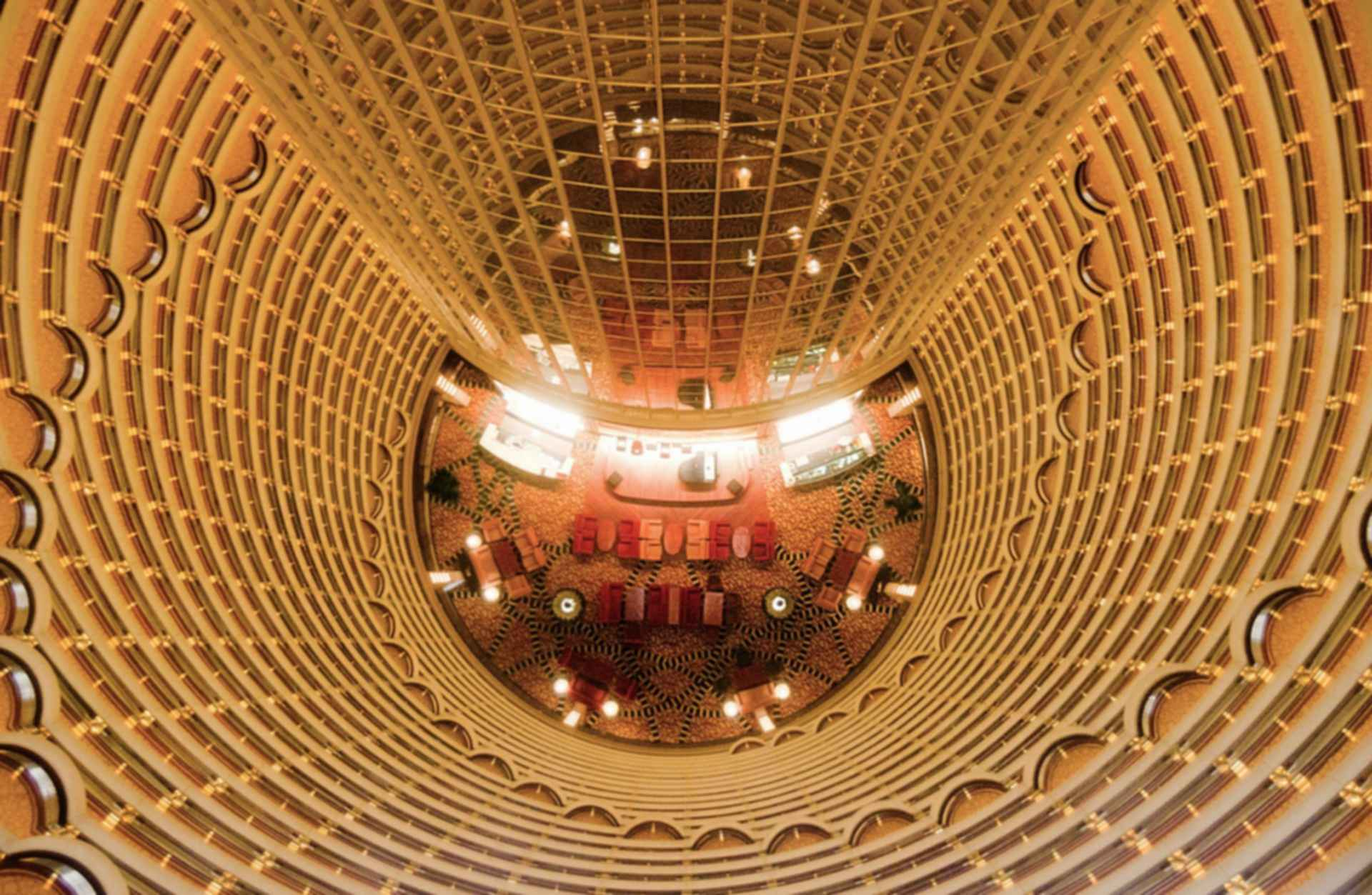 Jin Mao Tower - Interior