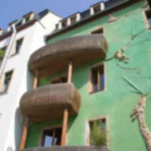 Kunsthof Passage - Green Facade