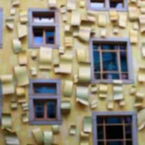 Kunsthof Passage - Yellow Facade Windows