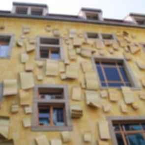 Kunsthof Passage - Yellow Facade