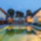 Berlicum Villa - Exterior Dusk