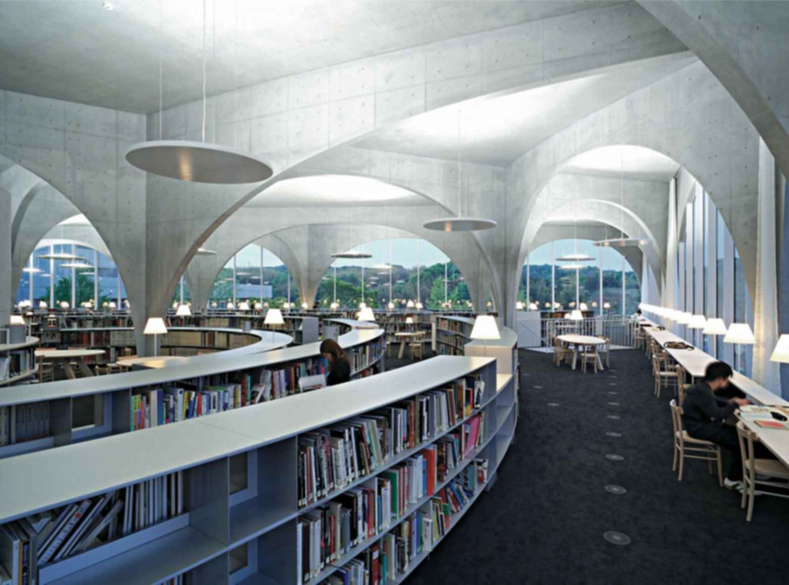 Tama Art University Library - Interior