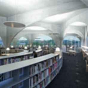 Tama Art University Library - Interior