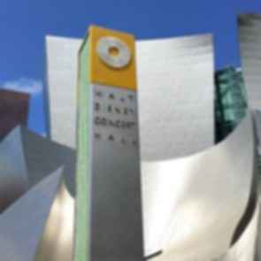 Walt Disney Concert Hall - Sign