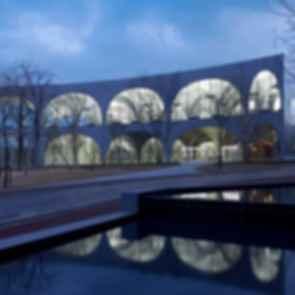 Tama Art University Library - Exterior