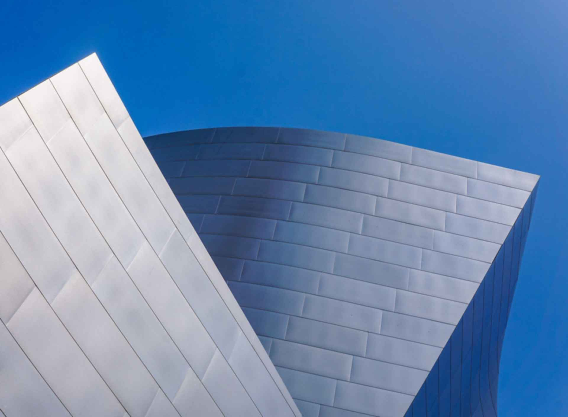 Walt Disney Concert Hall - Facade Detail