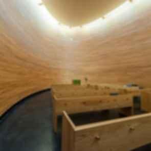Kamppi Chapel - Interior