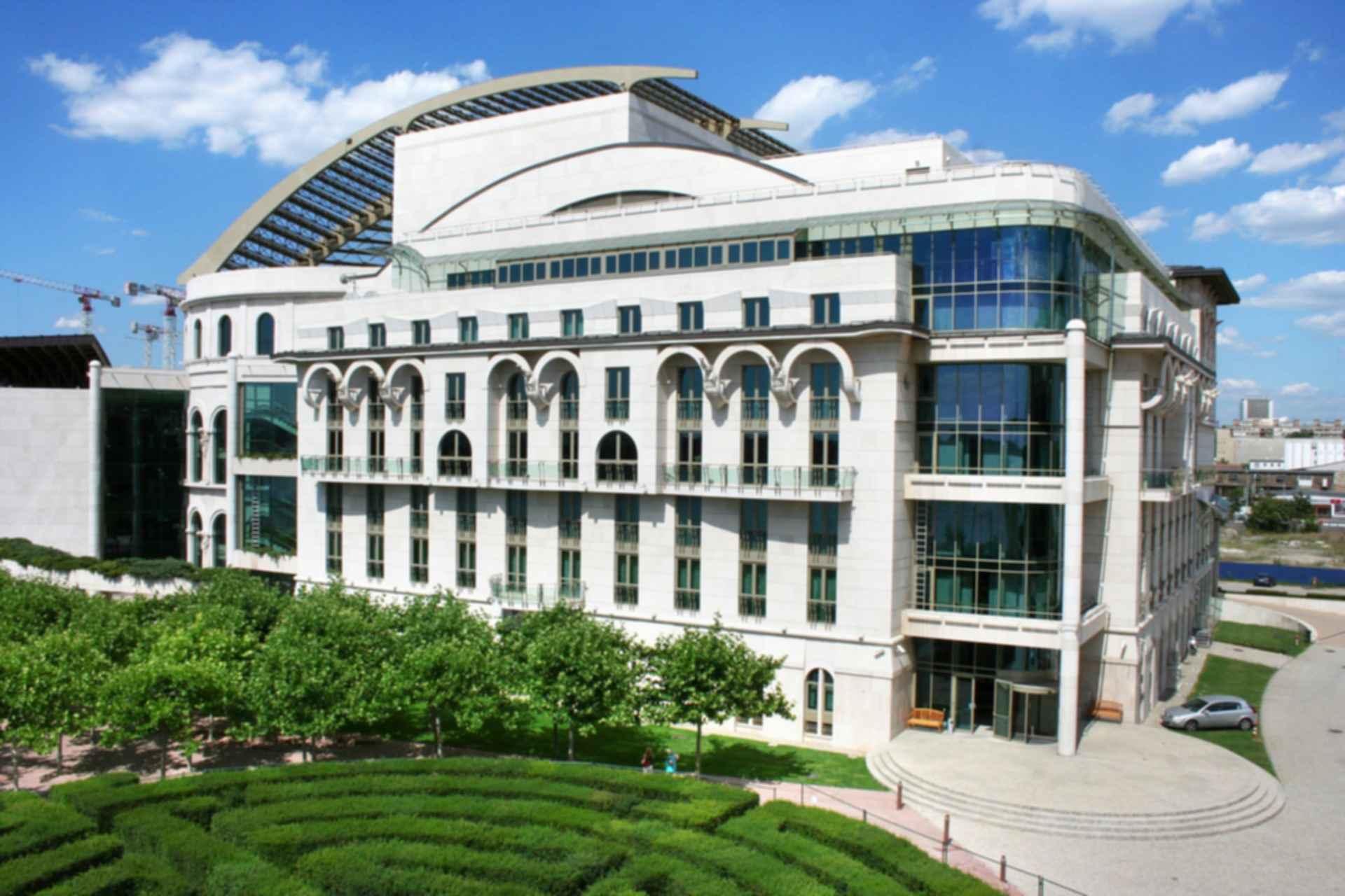 National Theatre Budapest - Exterior