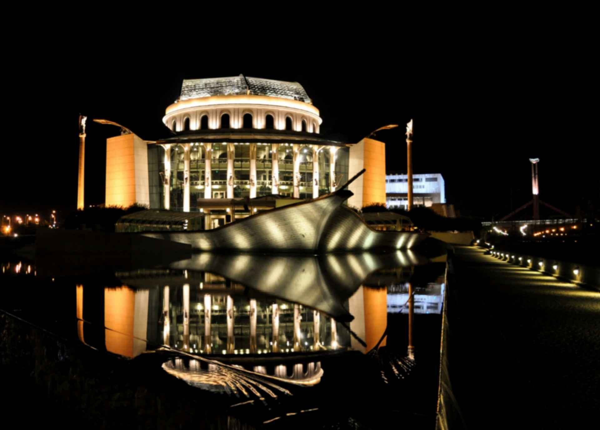 National Theatre Budapest - Night