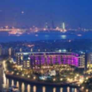 W Singapore Sentosa Cove - Aerial View